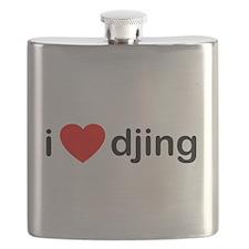 I Love DJing Flask