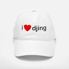 I Love DJing Baseball Baseball Cap