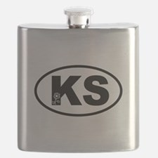 Kansas Sunflower Flask