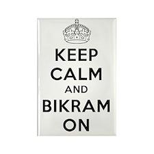 Keep Calm and Bikram On Rectangle Magnet (100 pack