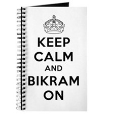 Keep Calm and Bikram On Journal