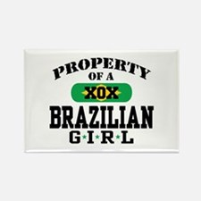 Property of a Brazilian Girl Rectangle Magnet