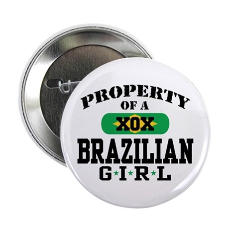 Property of a Brazilian Girl Button