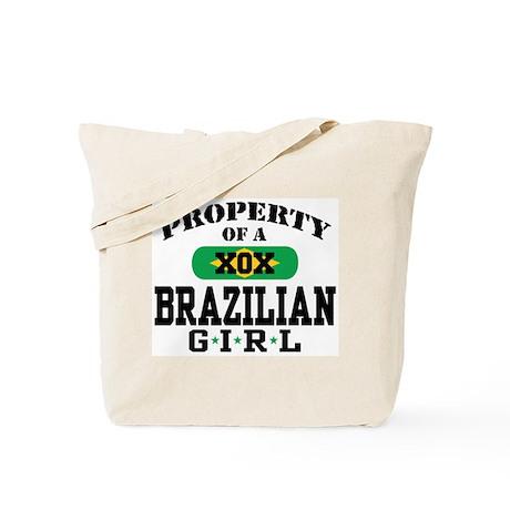 Property of a Brazilian Girl Tote Bag