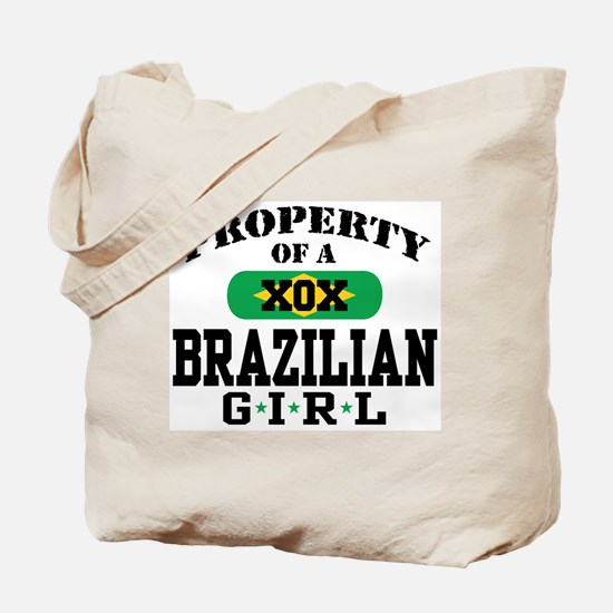 Property of a Brazilian Girl Tote Bag
