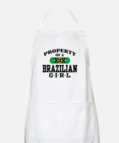 Property of a Brazilian Girl BBQ Apron