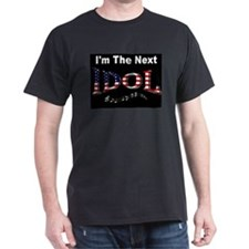 Next Idol Black T-Shirt
