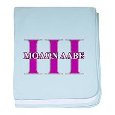 Molon Labe baby blanket