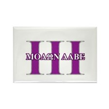 Molon Labe Rectangle Magnet