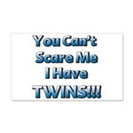 You cant scare me 1.png 20x12 Wall Decal