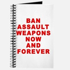 BAN ASSAULT WEAPONS FOREVER Journal