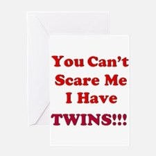 You cant scare me 2.png Greeting Card