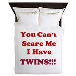 You cant scare me 2.png Queen Duvet