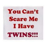 You cant scare me 2.png Throw Blanket