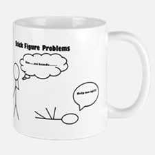 Stick Figure Problems Mug