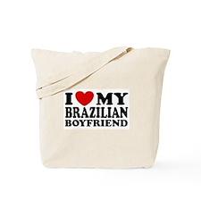 I Love My Brazilian Boyfriend Tote Bag