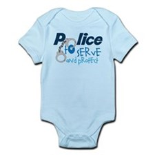 Serve And Protect Onesie