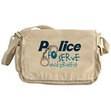 Serve And Protect Messenger Bag