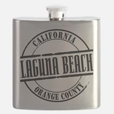 Laguna Beach Title Flask
