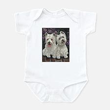 Best Friends White Infant Bodysuit