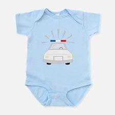 Police Car Infant Bodysuit