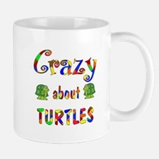 Crazy About Turtles Small Small Mug