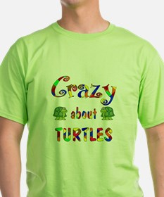 Crazy About Turtles T-Shirt