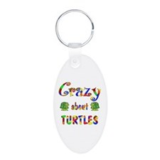 Crazy About Turtles Keychains