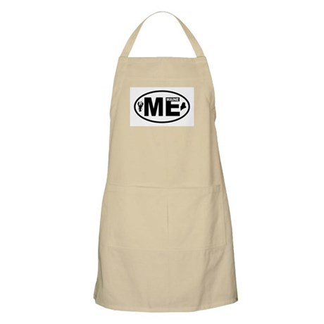 Maine Lobster and Map Apron