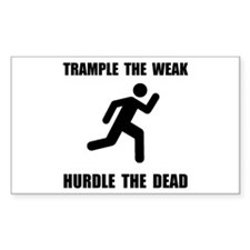 Trample Hurdle Decal