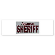 Arkansas Sheriff Bumper Sticker