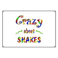 Crazy About Snakes Banner