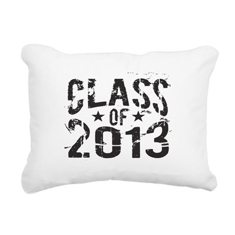 Class 2013 Rectangular Canvas Pillow