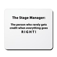 Stage Manager get it RIGHT! Mousepad