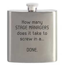 Stage Managers get it DONE Flask