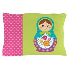 Funny Russia doll Pillow Case