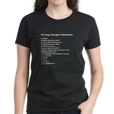 Stage Manager's Vocab Tee