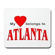 My heart belongs to Atlanta Mousepad