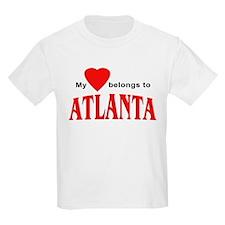 My heart belongs to Atlanta Kids T-Shirt
