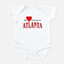 My heart belongs to Atlanta Infant Bodysuit
