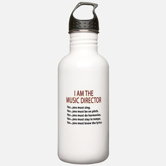 Music Director Water Bottle