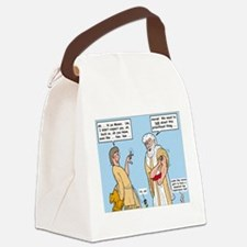 Investing in Gold Canvas Lunch Bag