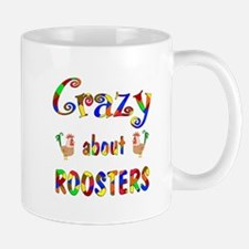 Crazy About Roosters Mug