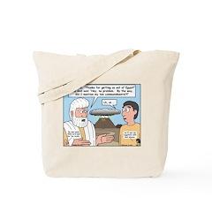The Fine Print Tote Bag