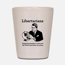 The Libertarian Plot Shot Glass