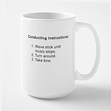 Conducting Instructions Large Mug