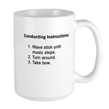 Conducting Instructions Mug