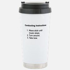 Conducting Instructions Travel Mug