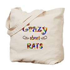 Crazy About Rats Tote Bag