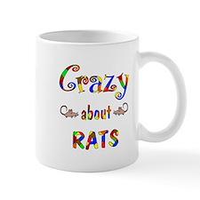Crazy About Rats Mug